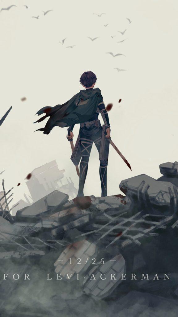 Wallpaper-Levi-de-Shingeki-No-Kyojin-gratis
